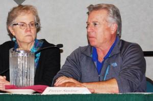 Linda Harris and Trevor Suslow, UC Davis